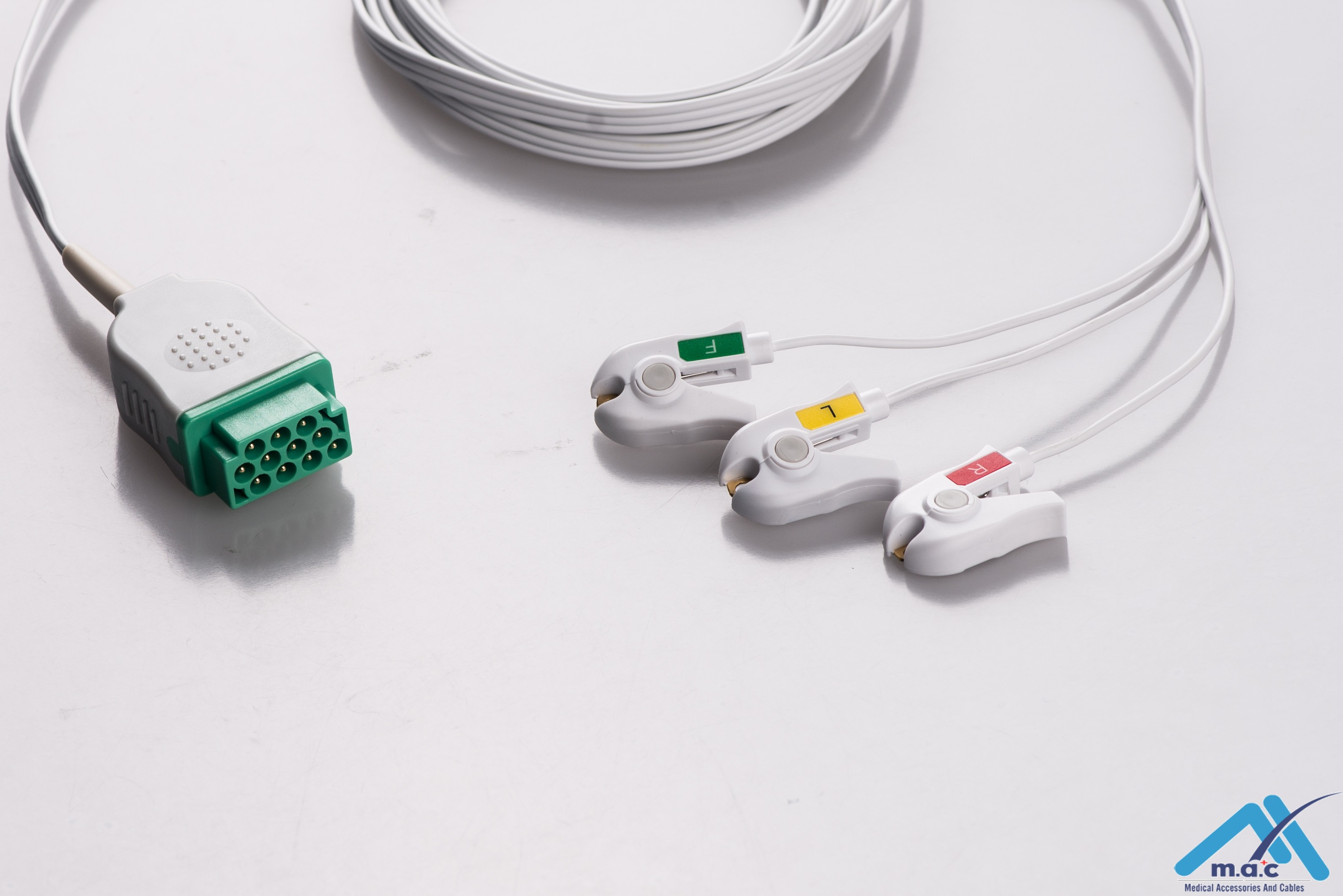 Disposable One Piece ECG Fixed Cable 23M86DP-I