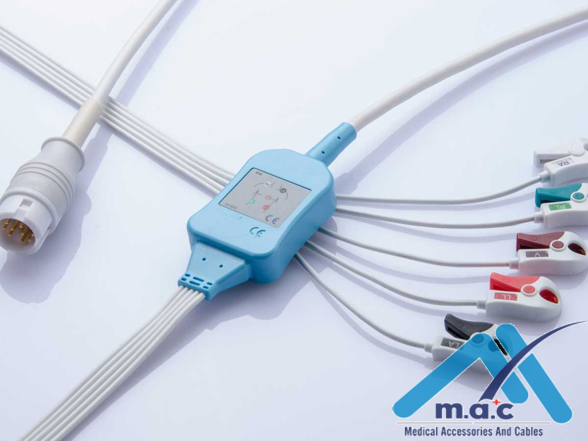 Disposable Philips® One-Piece ECG Cable