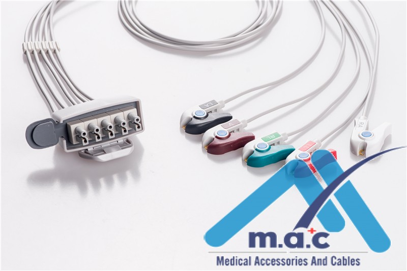 Philips Compatible ECG Telemetry Cables ATM5-90P