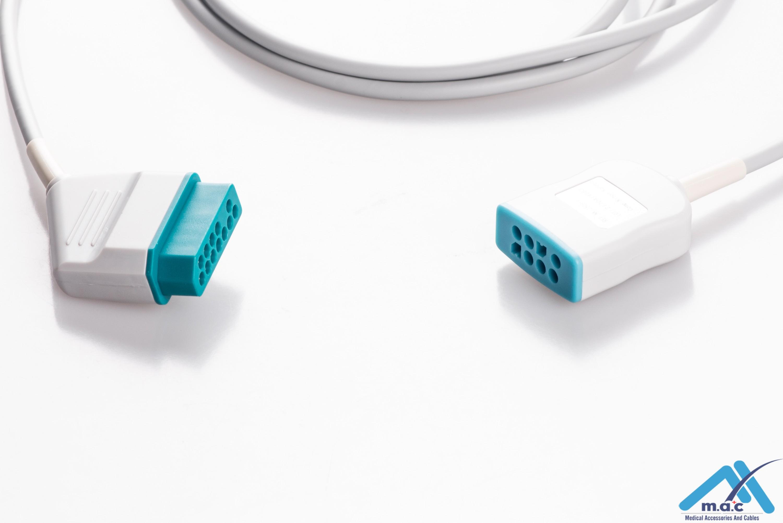 Generra Compatible ECG Trunk Cables NKM-2509-I