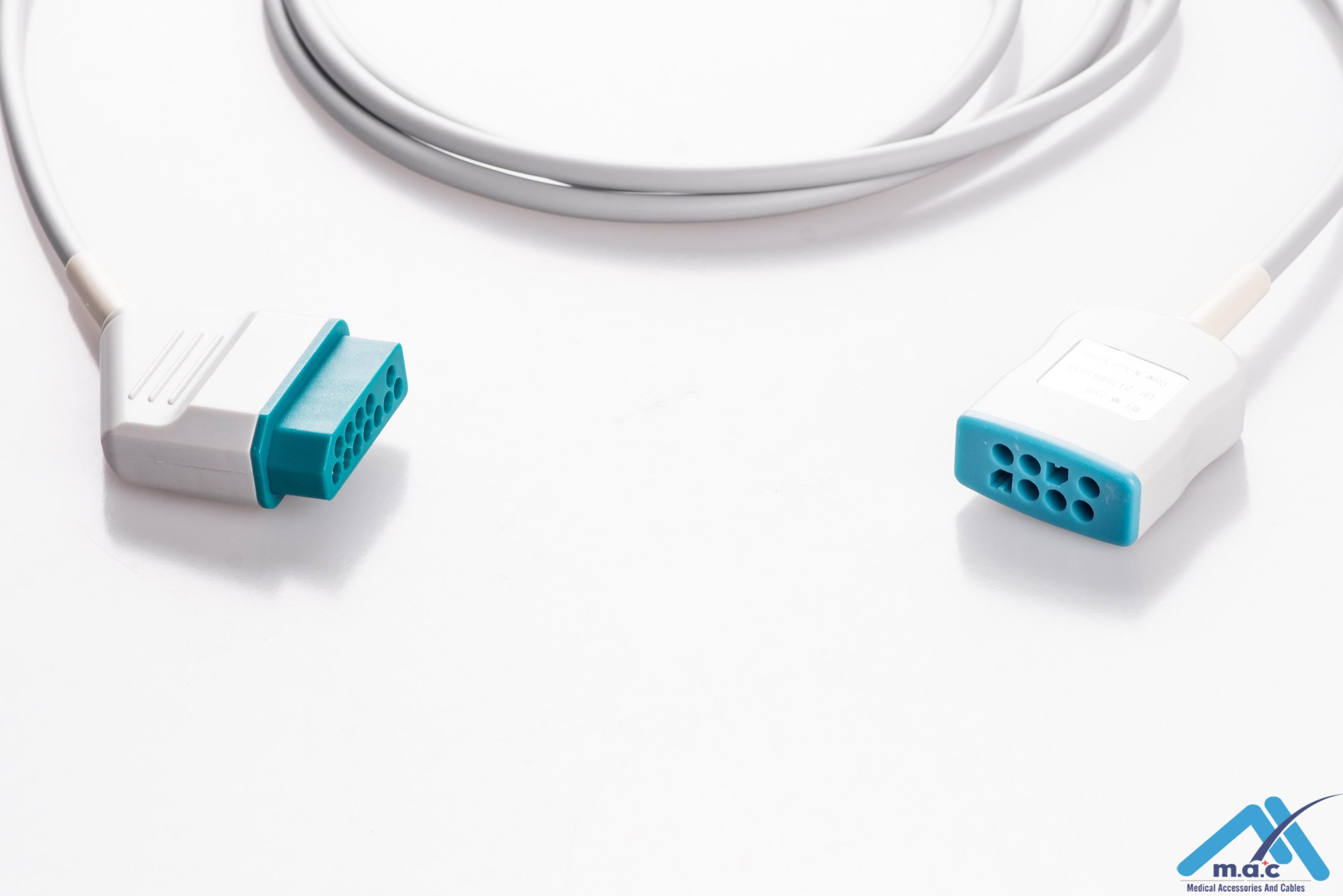 Generra Compatible ECG Trunk Cables NKM-2509
