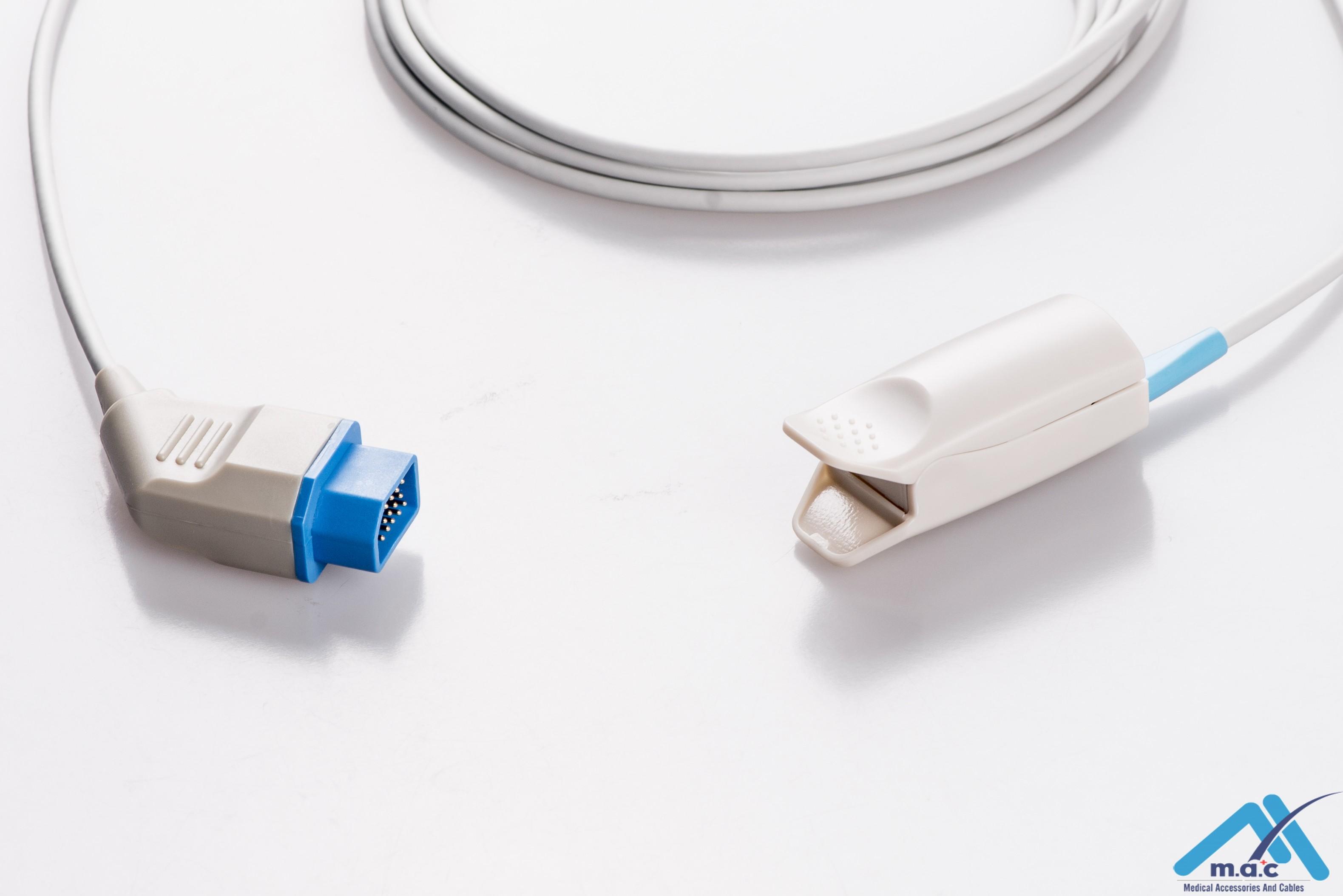Nihon Kohden Reusable Spo2 Sensor U4M10-36