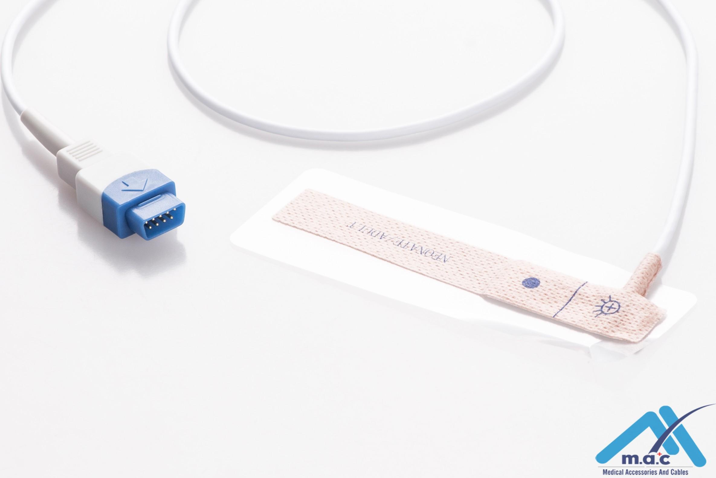 GE Healthcare - Datex - Ohmeda Disposable Spo2 Sensor U5M43-117 N5M43-117