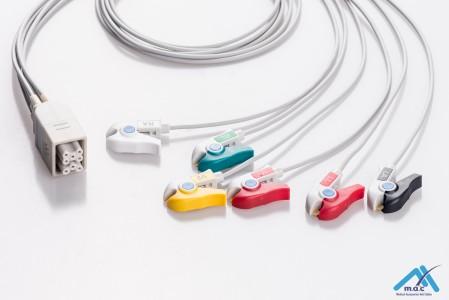 GE Healthcare Telemetry ECG Cables APM6-90P