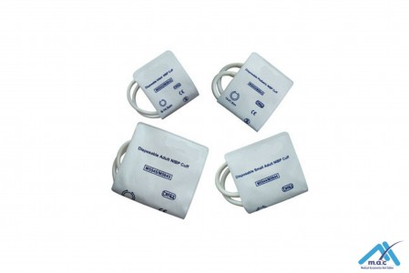 Disposable NIBP Cuffs with BP03 Connector (Soft Fiber)