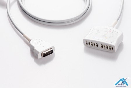 GE Healthcare - Marquette EKG Trunk Cables E1M0R-MQ-I