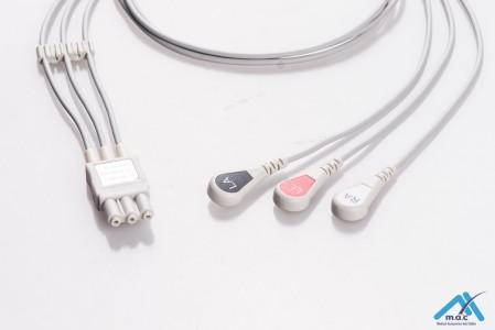 Philips Reusable ECG LeadWires HPM3-90S