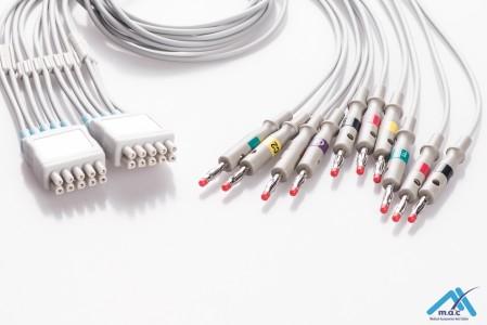 GE Healthcare EKG LeadWires MQM10-LB MQM10-LB-I