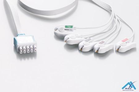 Disposable GE® Marquette® Multi-Link® ECG Lead Set